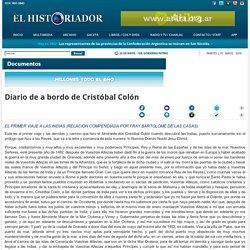 Diario de a bordo de Cristóbal Colón