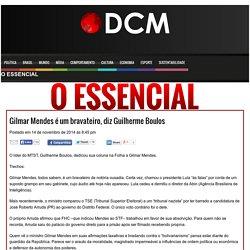 Gilmar Mendes é um bravateiro, diz Guilherme Boulos