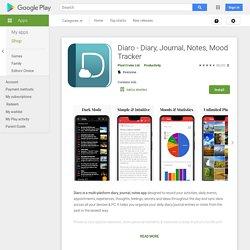 Diaro - Diary, Journal, Notes, Mood Tracker - Apps on Google Play