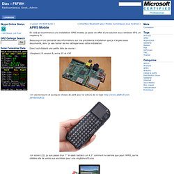 Dias – F4FWH » Blog Archive » APRS Mobile