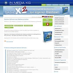 Diashow Programm Diashow Software Fotoalbum Photoalbum Bildschirmschoner TV VCD SVCD DVD Online Galerie HTML Galerie