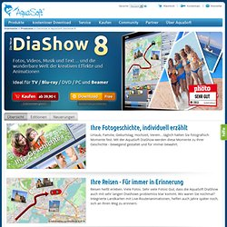 Diashow für DVD-Player und PC erstellen - HD-Diashows mit Musik und Effekten
