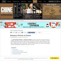Diaspora chinoise en France