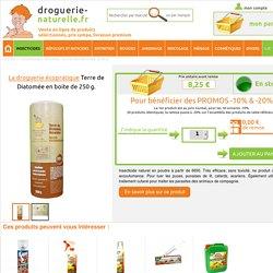 Terre de Diatomée en boite de 250 g. achat / vente d'insecticide naturel