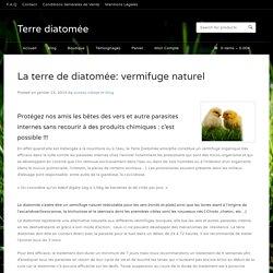 La terre de diatomée: vermifuge naturel - Terre diatomée