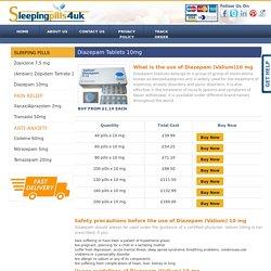 Diazepam Tablets UK, Buy Diazepam Pills Online