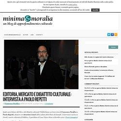 Editoria, mercato e dibattito culturale: intervista a Paolo Repetti