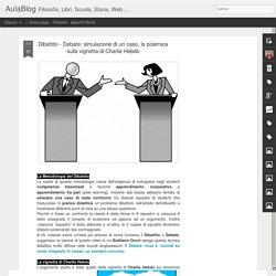 simulazione di un caso, la polemica sulla vignetta di Charlie Hebdo