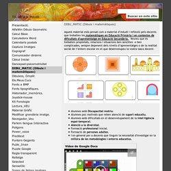 DIBU_MATIC (Dibuix i matemàtiques) - TIC per a la inclusió