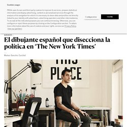 El dibujante español que disecciona la política en 'The New York Times'