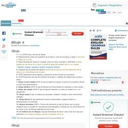 Dibujo - significado de dibujo diccionario