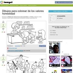Dibujos para colorear de los valores honestidad - Imagui