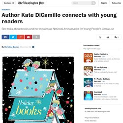 Author Kate DiCamillo connects with young readers