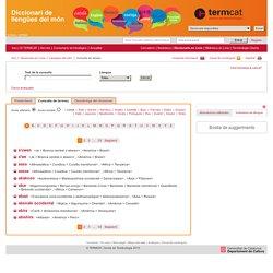 Diccionari de llengües del món