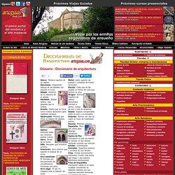 Diccionario glosario de arquitectura