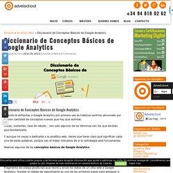 Diccionario de Conceptos Básicos de Google Analytics - AdveiSchool