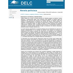 Diccionario Electrónico de la Literatura Colombiana