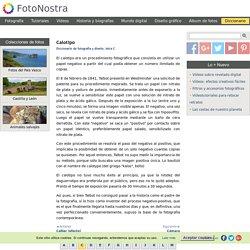 Calotipo - Diccionario de fotografía y diseño