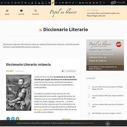 Diccionario Literario - Papel en Blanco