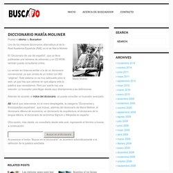 Diccionario María Moliner - Buscadoor - Pale Moon