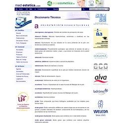 Diccionario Técnico de Medicina Estética -