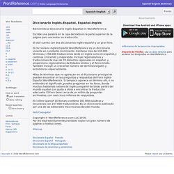 Diccionario Inglés-Español WordReference.com