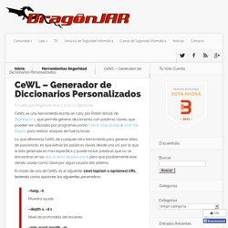 CeWL – Generador de Diccionarios Personalizados