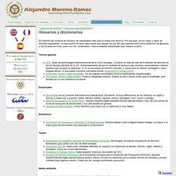 Glosarios y diccionarios - Traducciones técnicas