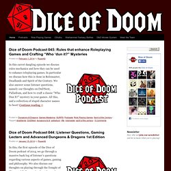 Dice of Doom