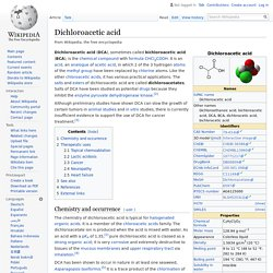 Dichloroacetic acid