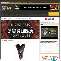 DICIONÁRIO YORUBÁ/PORTUGUÊS