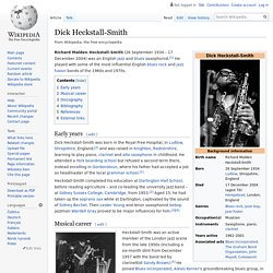 Dick Heckstall-Smith