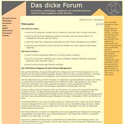 Meinung der übergewichtige Minderheiten - Das dicke Forum