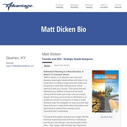 Matt Dicken – Advantage Media Group