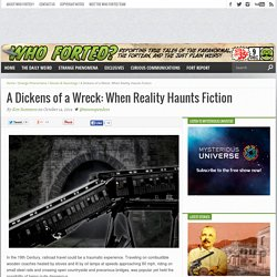 A Dickens of a Wreck: When Reality Haunts Fiction