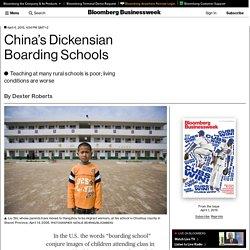 China's Dickensian Boarding Schools