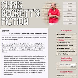 Chris Beckett's Fiction