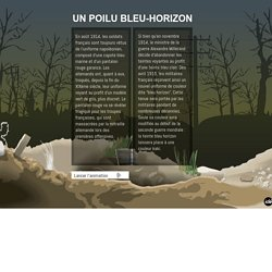Animation - Un poilu bleu-horizon