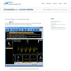 H.R.Z. Software Services LTD – DICOM and HL7 Solutions