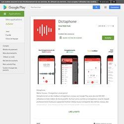 #AUDIO Application Dictaphone
