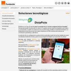 DictaPicto - Fundación Orange