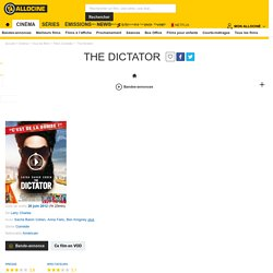 The Dictator - film 2012