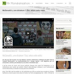 McDonald's, une dictature ? Oui, selon cette vidéo