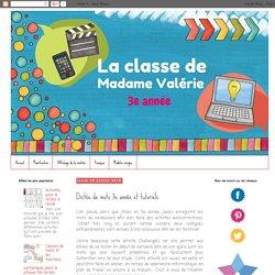 La classe de Madame Valérie: Dictée de mots 3e année et tutoriels