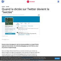 """Quand la dictée sur Twitter devient la """"twictée"""""""