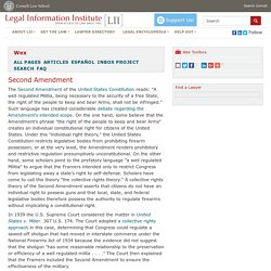 Wex Legal Dictionary / Encyclopedia
