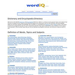 wordIQ.com - Search for Knowledge