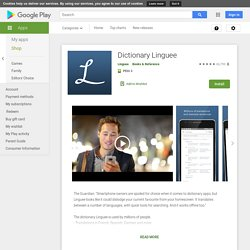 Dictionary Linguee - Apps on Google Play