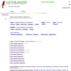 English Free to translate latin