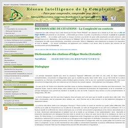 Dictionnaire de citations: MCX-APC